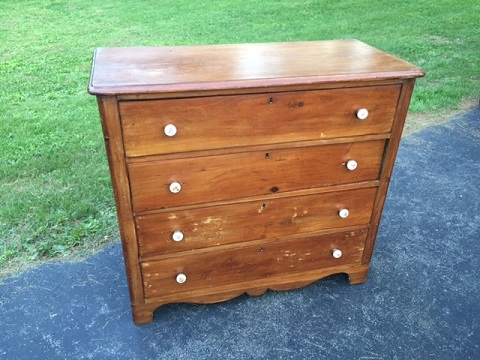 Vintage Pine Country Chest Has A Nice Rustic Look Measures 35 Inches Tall 39 Wide 18 Deep 175 00